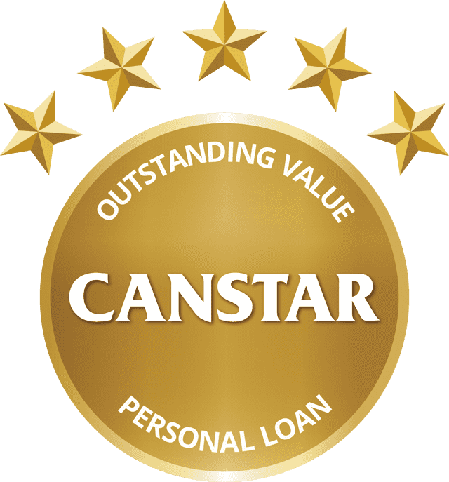 CANSTAR Outstanding Value, Personal Loan
