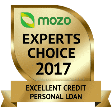 Mozo Experts Choice, Excellent Credit Personal Loan, 2017