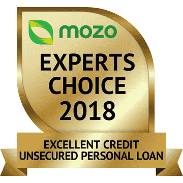 Mozo Experts Choice, Excellent Credit Personal Loan, 2018