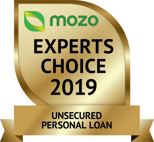 Mozo Experts Choice, Excellent Credit Personal Loan, 2019